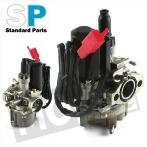 Carburateur -SP- peugeot-speedfight/kymco/ho.px standaard 12mm +elektr. Choke