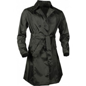 Regenjas dames GREENLANDS XL    zwart ladiesraincoat