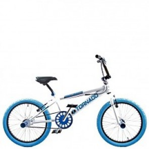 Bmx 20inch freestyle ROYAL-TORNADO wit/blauw